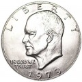 1 dollar 1973 USA Eisenhower, mint mark P