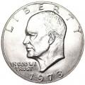 1 доллар 1973 США Эйзенхауэр, двор P