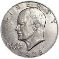 1 dollar 1978 USA mint mark P