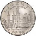 1 доллар 1996 США Смитсоновский институт, серебро UNC