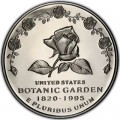 1 доллар 1997 США Ботанический сад, серебро Proof