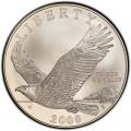 1 доллар 2008 США Белоголовый орлан, серебро UNC