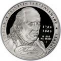 1 доллар 2006 Бенджамин Франклин Отец основатель, серебро proof
