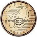 1 доллар 2009, Канада, 100 лет хоккейному клубу Монреаль Канадиенс