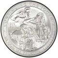 1 доллар 2010 100 лет Бой скаутам Америки, серебро UNC