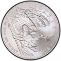 1 dollar 2012 USA Star Spangled Banner Silber UNC