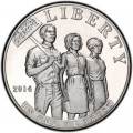 1 dollar 2014 USA Civil Rights Act of 1964,  UNC (1)
