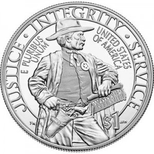 1 dollar 2015 USA Marshals Service,  Proof
