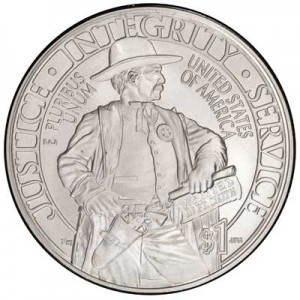 1 dollar 2015 USA Marshals Service,  UNC