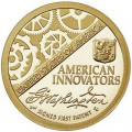 1 dollar 2018 USA, American Innovation, First Patent, mint S, proof