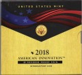 1 dollar 2018 USA, American Innovation, First Patent, mint S, Reverse proof
