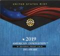 1 доллар 2019 США, Инновации США, Делавер, Система классификации звезд, S, Reverse proof