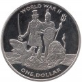 1 dollar 2019 Virgin Islands, World War II