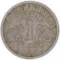 1 франк 1943 Франция, из обращения