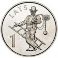 1 лат 2008 Латвия, Трубочист