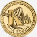 1 фунт 2004 Англия, Мост через Форт из обращения