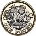 1 фунт 2016 Великобритания, 12-угольник