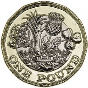 1 pound 2017 United Kingdom