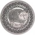 1 рубль 2009 Беларусь Овен