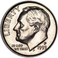 10 cents One dime 1993 USA Roosevelt, mint P