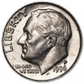 10 cents One dime 1996 USA Roosevelt, mint P