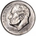 One dime 10 cents 2013 US Roosevelt, mint P