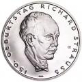 10 евро 2014 Германия, 150 лет со дня рождения Рихарда Штрауса