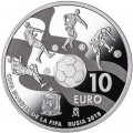 10 euro 2017 Spain, World Cup 2018, silver
