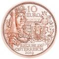 10 евро 2019 Австрия, Рыцарство