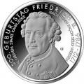 10 евро 2012 Германия Фридрих II Великий, двор A