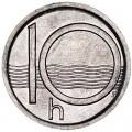 10 геллеров 1993 Чехия UNC
