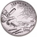 1,5 euro 2019 Lithuania Smelt fishing