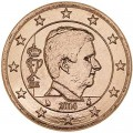 2 Cent 2014 Belgien UNC