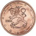 2 цента 2003 Финляндия, UNC