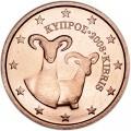 2 цента 2008 Кипр, UNC