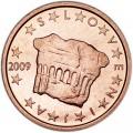 2 цента 2009 Словения, UNC