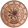 2 цента 2013 Австрия, UNC