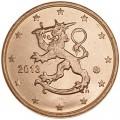 2 Cent 2013 Finnland UNC