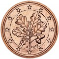 2 цента 2013 Германия A, UNC