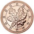 2 цента 2013 Германия F, UNC