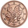 2 цента 2014 Германия D, UNC