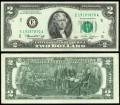 2 доллара 1976 США (E - Ричмонд), банкнота, хорошее качество XF