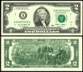 2 dollars 2009 USA (A), Banknote, XF