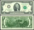 Banknote 2 Dollar 2013 USA (I), XF