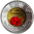 2 dollars 2018 Canada 100th Anniversary of the Armistice of 1918