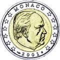 2 евро 2001 Монако
