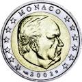 2 евро 2002 Монако