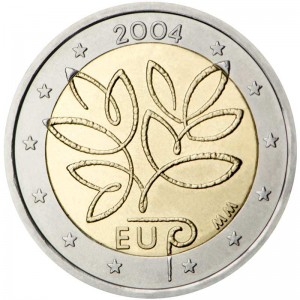 2 euro 2004 Finland, enlargement of the European Union