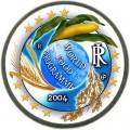 2 евро 2004 Италия, 50 лет Всемирной продовольственной программы цветная