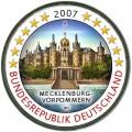 2 евро 2007 Германия, Мекленбург-Передняя Померания, цветная